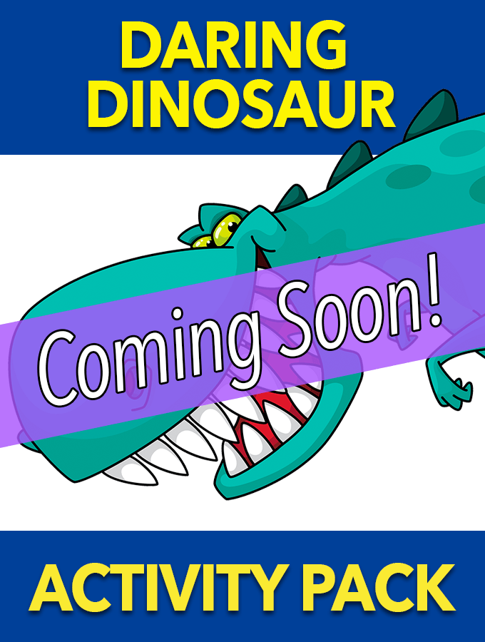 Daring Dinosaur Activity Pack – Coming Soon