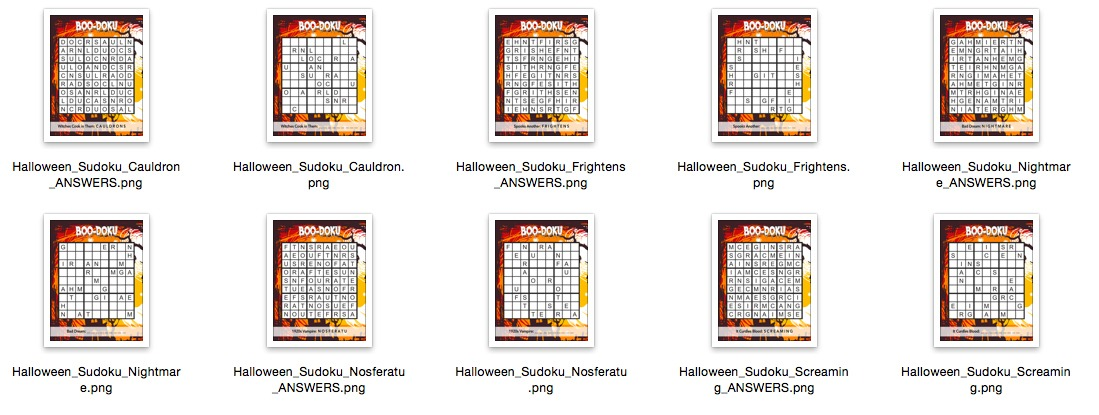 Haunted Halloween Sudoku