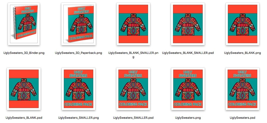 Ugly Sweater Covers Preview