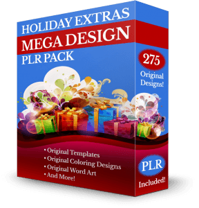 The Holiday Extras MEGA DESIGN PLR Pack