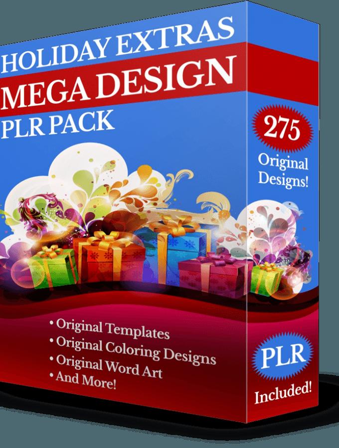 Holiday Extras Mega Design PLR Pack