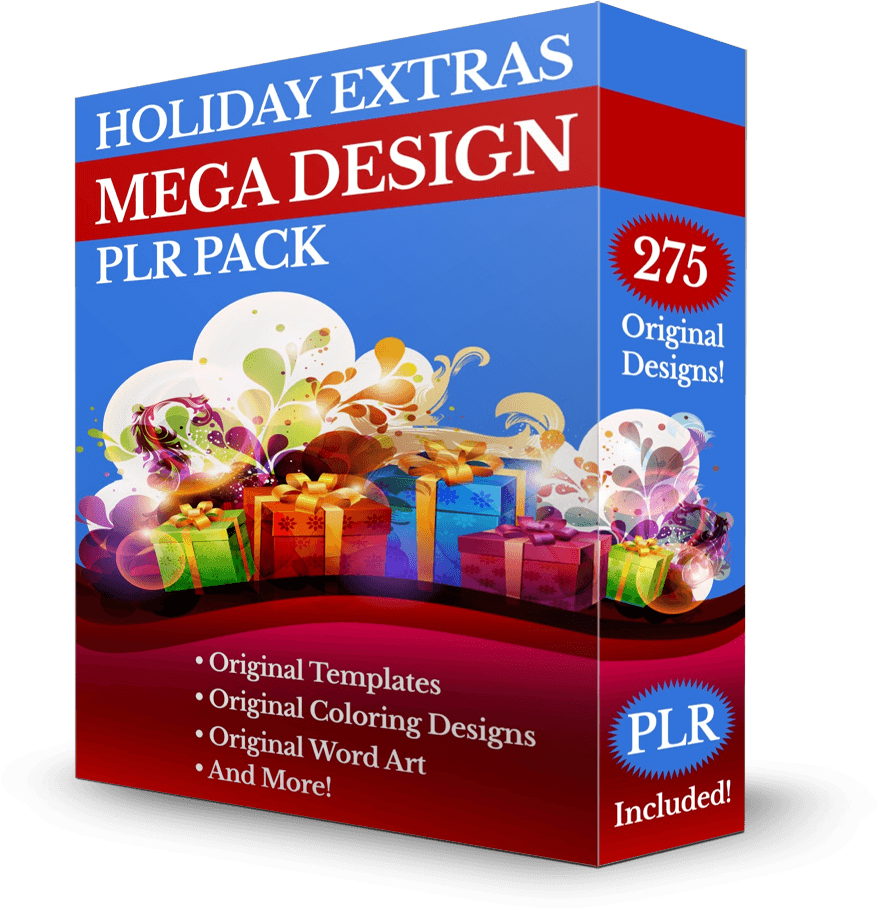 Holiday Extras Mega Design PLR Pack