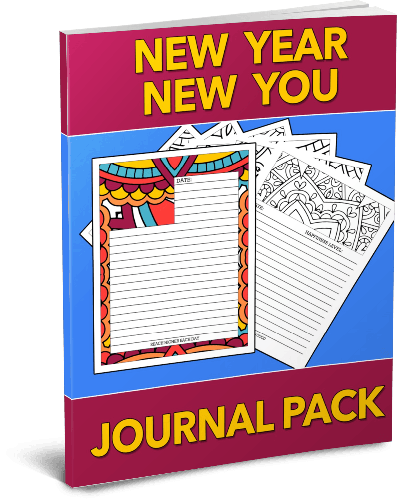 New Year New You Journal Pack by Shawn Hansen
