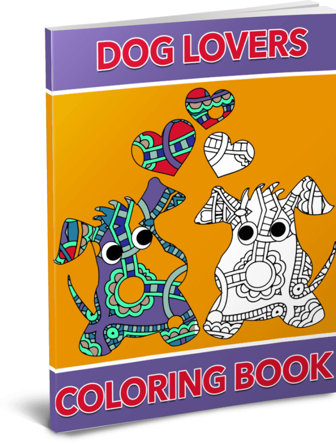 Dog Lovers Coloring Pack by Shawn Hansen