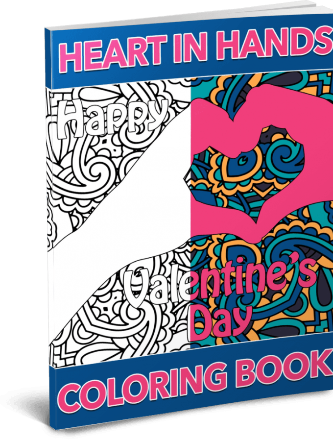 Heart in Hands Coloring Pack by Shawn Hansen